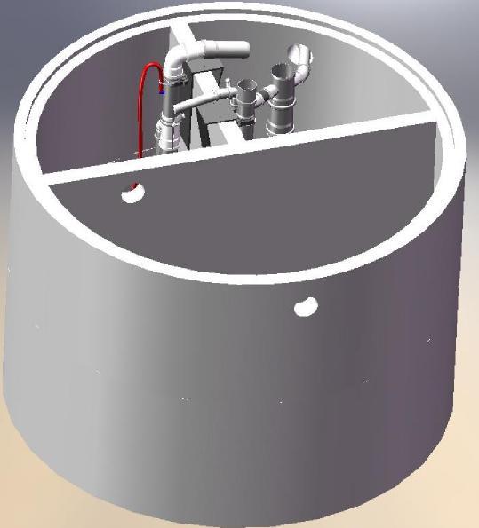 vollbiologische solido kleinkl ranlage als nachr stsatz f r beton oder kunststoff kl rgruben zum. Black Bedroom Furniture Sets. Home Design Ideas
